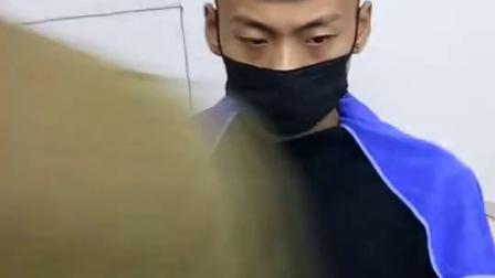 男士飞机头详细教学视频_高清
