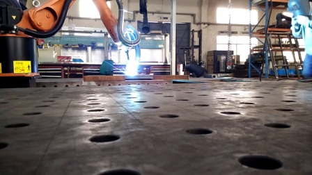 凯森环保机器人焊接烟尘治理效果视频