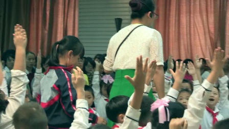 二年級音樂《彝家娃娃真幸福》廣西中小學優質課及觀摩活動-王雪屏