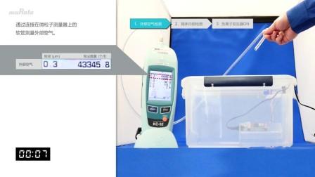 验证负离子发生器除去PM2.5的效果1:负离子发生器单体