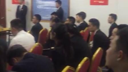 墨润为杭州新奇特汽车服务公司员工培训墨润石墨烯保护剂