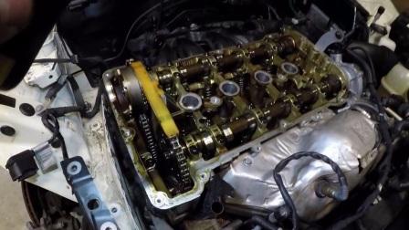宝马 雪铁龙 标志 DS  1.6T THP 发动机 正时链条 更换教程