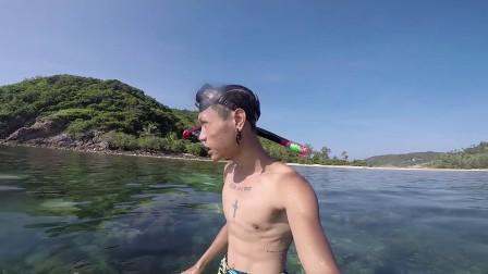 泰国浮潜还能这么玩 949