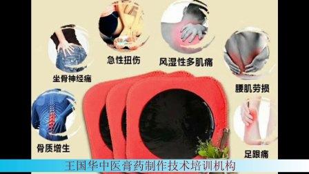 王国华中医膏药制作技术培训课程