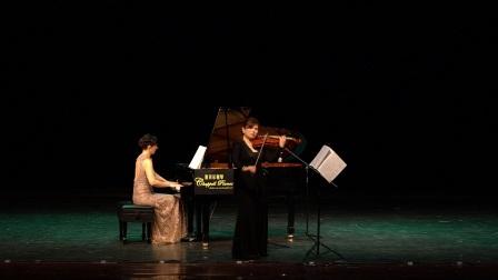 格里格奏鸣曲 第三乐章  钢琴:柔莎瑟莫娃 小提琴:廖昊月