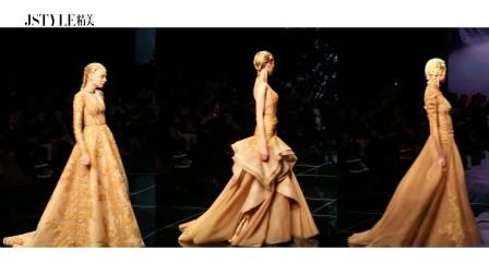 #JSTYLE独家视频#轰炸了整个时尚圈,这场秀才是自带仙气儿的美