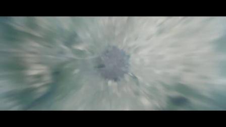 俯瞰地球缩放冲入云层到地面坐标经纬度宇宙到地球动画包AE模板