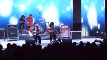 佤族-盲人乐队