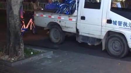 湛江首批共享单车,止步于万恶的城管大盗…