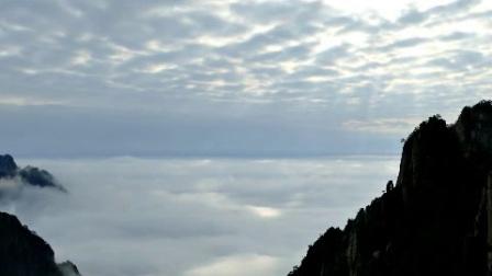 安微黄山大气磅礴高山云雾自然美景风光旅游景点高清视频实拍素材