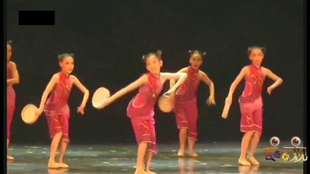 广东省第四届少儿舞蹈大赛少儿群舞~钱鼓声声