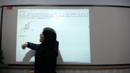 2016济南历城区初二数学期中解析