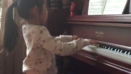 孙语墨弹奏巴赫G小调波洛奈兹舞曲