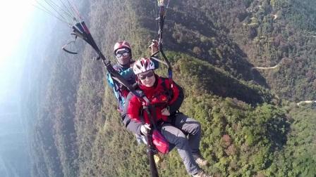 考拉褒忠山滑翔伞飞行体验