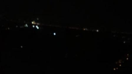 杭州萧山机场降落过程