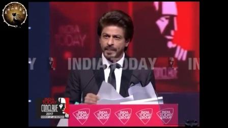 (2017.11.7翻译发布 1080P)Shah Rukh Khan沙鲁克汗演讲-The Dream Maker-2017