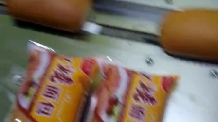 面包充气枕式包装机~充氮气枕式包装机