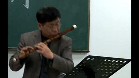 马迪竹笛演奏入门教程8