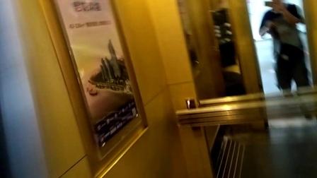 汕头中区大厦三菱电梯下行