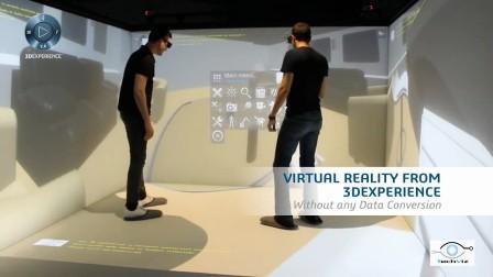 基由TechViz XL实现的沉浸式3D体验3DExperience——达索系统