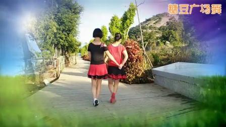 山边快乐健身广场舞《你不来我不老》双人舞
