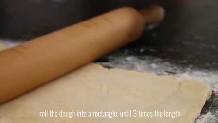 苹果千层酥 丨 Rough Puff Pastry Recipe