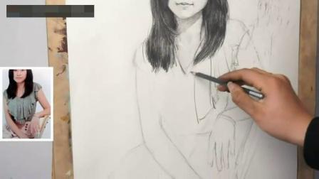 风景油画教程学国画_速写手_现代建筑速写高考美术培训班