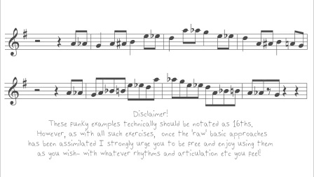 2 note Approach note Exercises part 2  All instruments