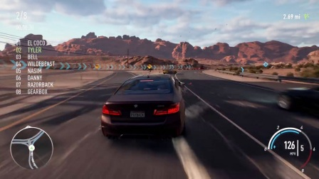 Need For Speed Payback- 'The Gamescom BMW Race' PC Gamep