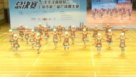 少数民族舞蹈:20人变队形