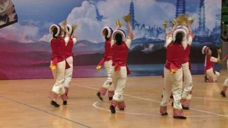 大理白族自治州民族广场舞推广示范项目第二期 - 01白族舞《哗嘻哫哫》