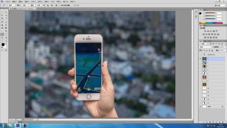 ps怎么合并图层 平面设计图 图片处理软件photoshop下载