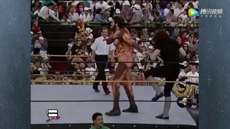 人类历史上身高最高的搏击达人, WWE擂台上遭送葬者吊打!