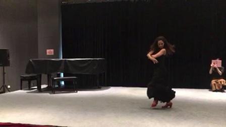 """与弗拉门戈舞蹈大师面对面-""""吉尼斯世界纪录""""拥有最快脚步的女性弗拉门戈舞者Montserrat Suarez 蒙特塞拉·苏亚雷斯"""