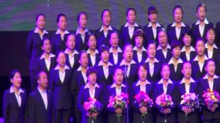 内蒙古兴安盟科尔沁右翼前旗察尔森小学教师合唱--察尔森小学校歌