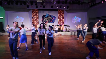 Swingtime Ball 2017 - Students' Performance - Suzy's Stompin' Sharks