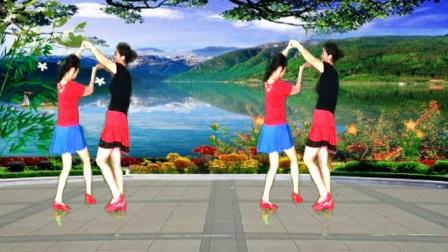 汕头娟子姐妹广场舞《阿哥阿妹》双人舞