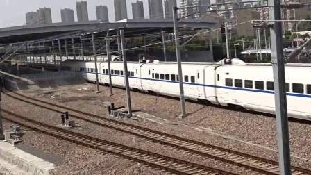 上海22号线金山城际铁路C3062(金山卫~上海南)CRH2A金山卫2道发车【20171021】