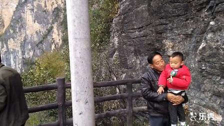巴东县《绝壁天河》游玩记实