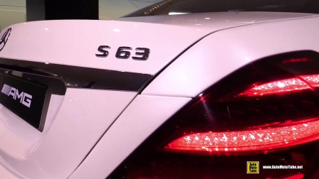 车展实拍2018 Mercedes AMG S63 4Matic