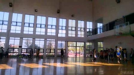 武宁县中小学生男子篮球赛五小VS一小2