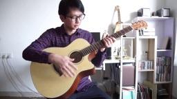【小鱼吉他屋】UMA 民谣吉他GA-12 试听评测