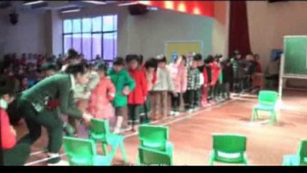 大班律动游戏《跳花绳》含教师说课幼儿园优质课视频音乐公开