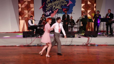 Swingtime Ball 2017 - Teachers' Performance - Vincenzo & Katja