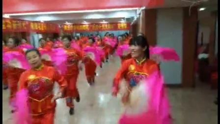 商丘妇联培训班舞蹈八月桂花遍地开