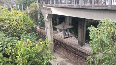 T7785次通过钱江大桥