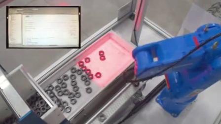 MH5 Robot 视觉搬运