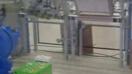 Motoman robot纸盒装箱打包