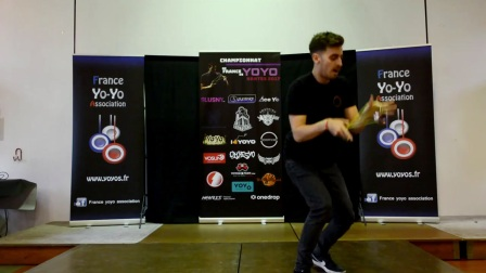 1A Open 1st Robert Kucera French Yoyo Nationals 2017