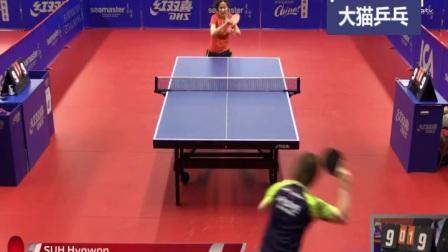 美女vs美女-2017瑞典赛张蔷vs徐孝元